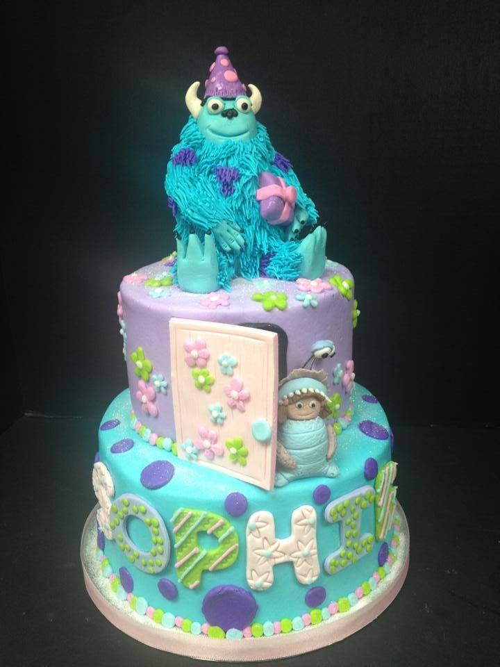 Monsters Inc Birthday Cakes MonstersIncBirthdayCakejpg Cake