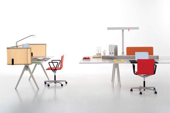 Joyn By Vitra Single Desk Bench Conference Office Interior Design Single Desk Furniture