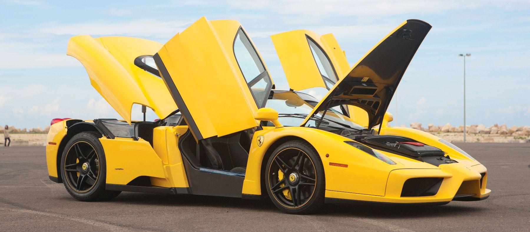 Rm Monaco 2014 Ferrari Enzo Yellow Over Black Ferrari Ferrari Enzo Yellow Car