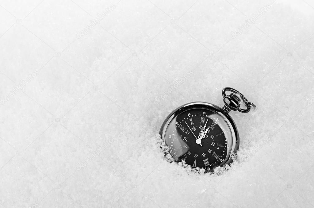 Compass in snow stock photo affiliate snow