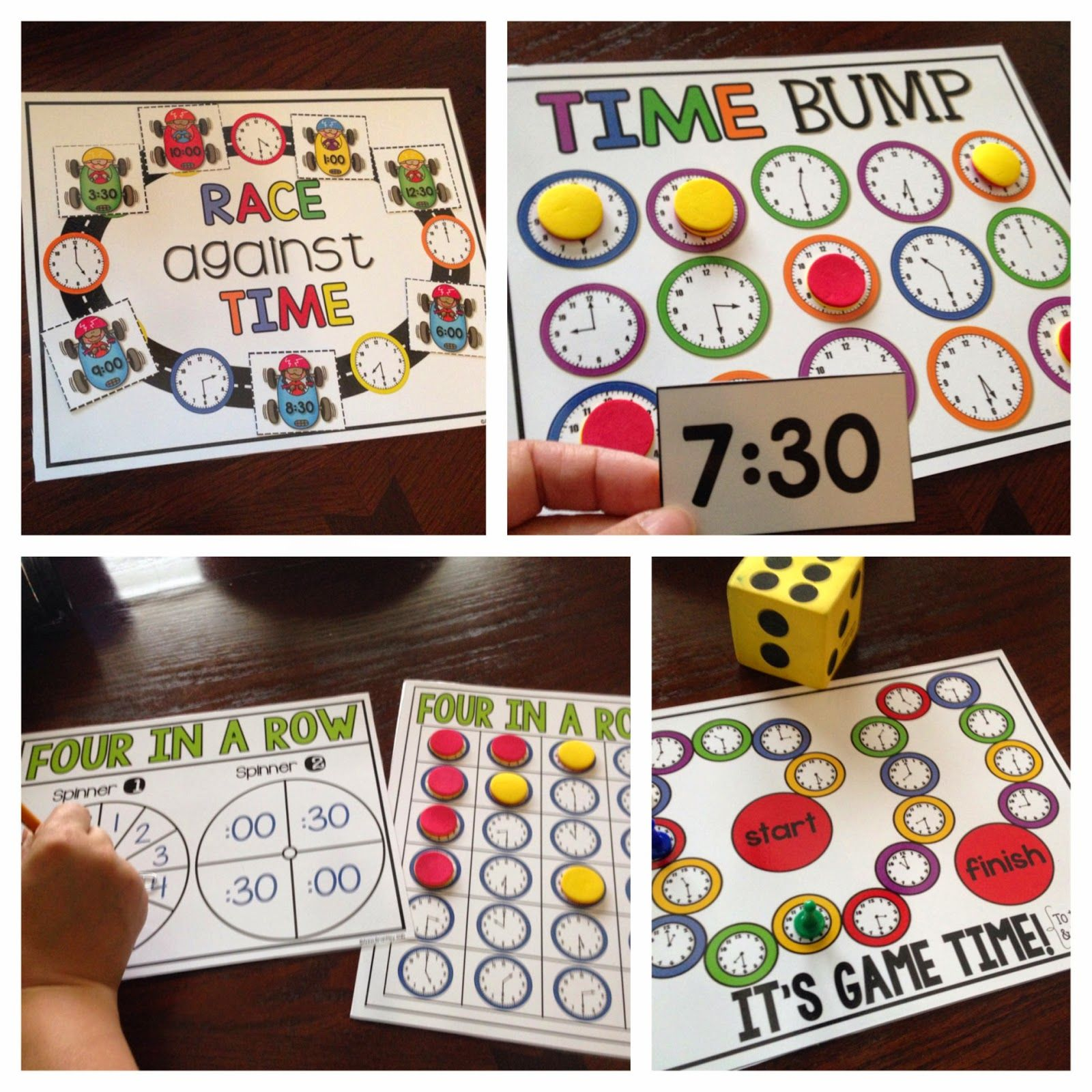 Crazy for First Grade Let's Practice Telling Time! {with