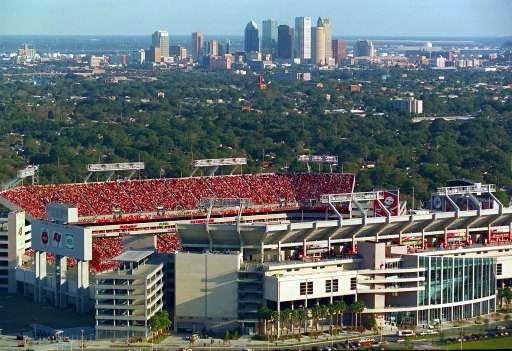 Tampa Raymond James Stadium 65 908 Florida Events Tampa Tampa Bay Bucs
