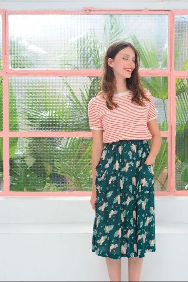 57c211b13e907 jupe enry palmier   Что надеть   Pinterest   Skirts, Fashion et Style