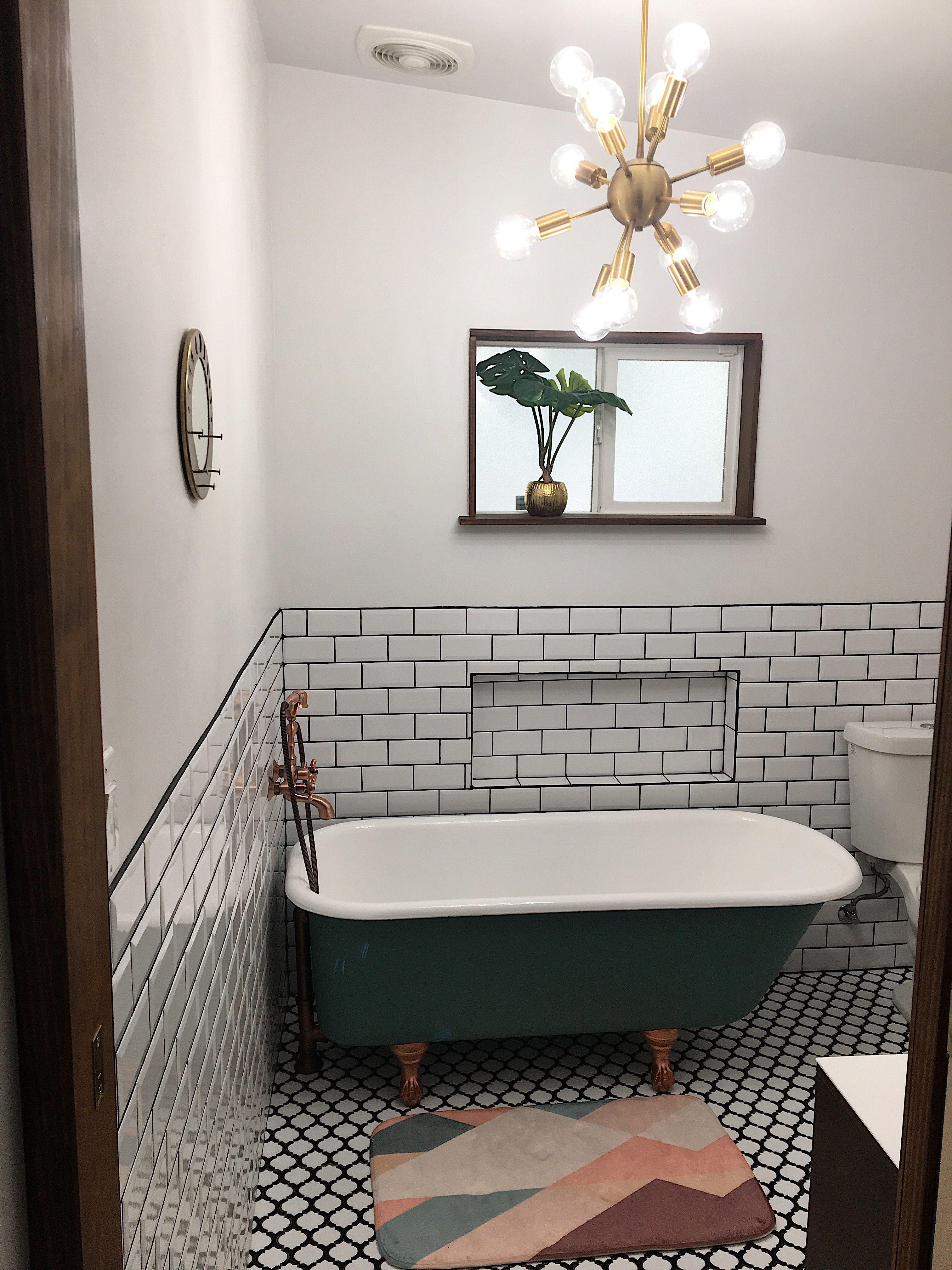 Pin On Master Bathroom Renovation Mid Century Vintage Modern