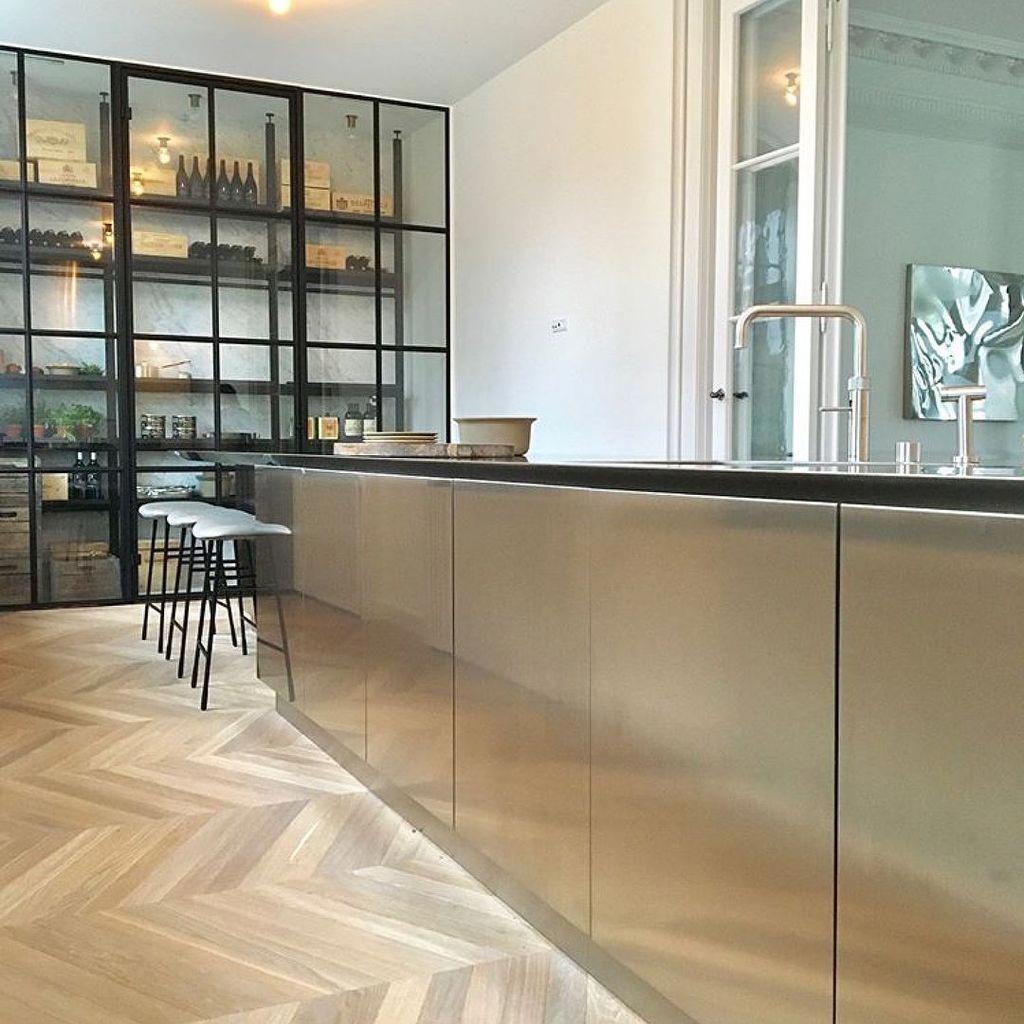 Tavoli Da Cucina Piccole Dimensioni.30 Impressive Stainless Steel Kitchen Table Design Ideas Cucine