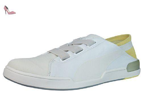 Puma Urban Flyer Fold femmes Cuir chaussures / Chaussures - Light gris -  SIZE EU 42