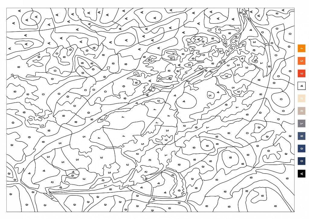 Pin Von Aleinad Regieg Auf Malen Nach Zahlen Malen Nach Zahlen Kostenlose Erwachsenen Malvorlagen Mandala Malvorlagen