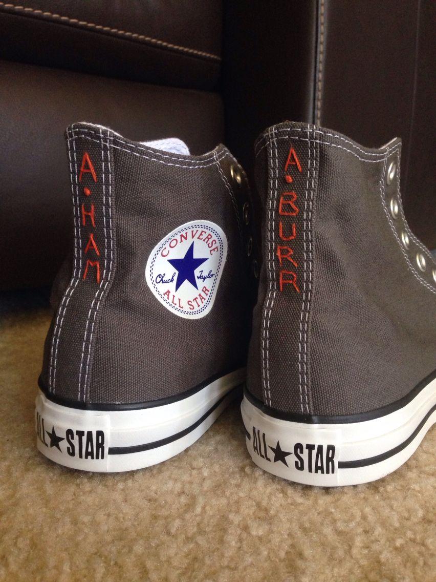 758119a402f0 Hamilton embroidered Converse