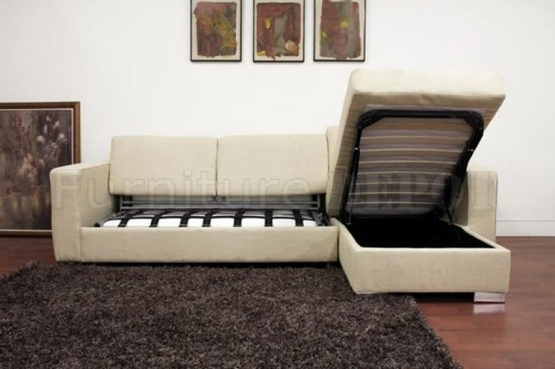 Sleeper Sofa With Chaise Lounge Bed Melbourne Dream