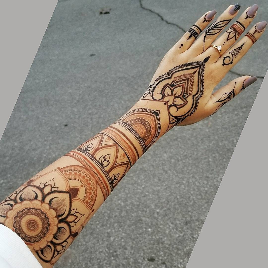 Blue Henna Tattoo: Here's The Stain!!! I Used Henna (brown) Hengua (blackish