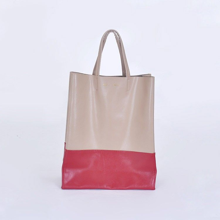 Celine Tote Apricot Red Cabas Bags 260 196 00