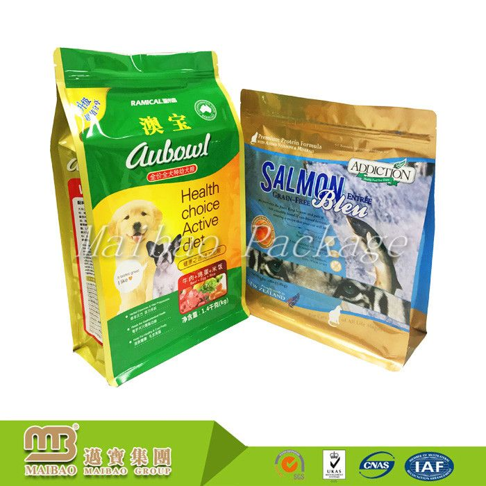 China Manufacturer Oem Customized Order 8 Side Sealed Pet Food