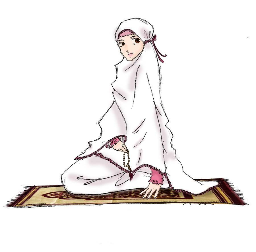 Image result for Solat muslimah