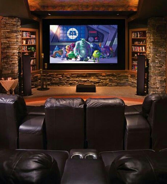 Awesome Home Theatre Room.