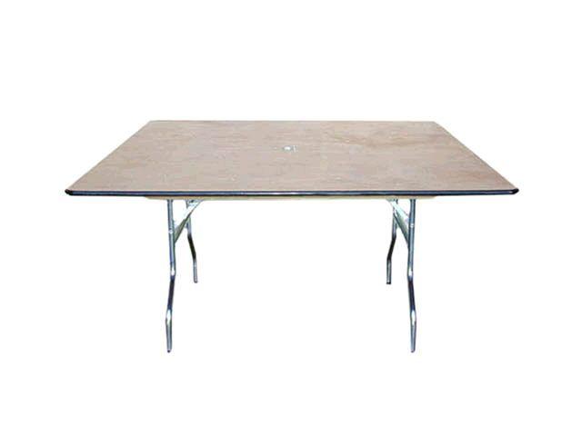 4 X4 Square Table Williamspartyrentals Williamssj Wedding Tables Sanjose Bayarea Square Tables Table Canopy Rentals