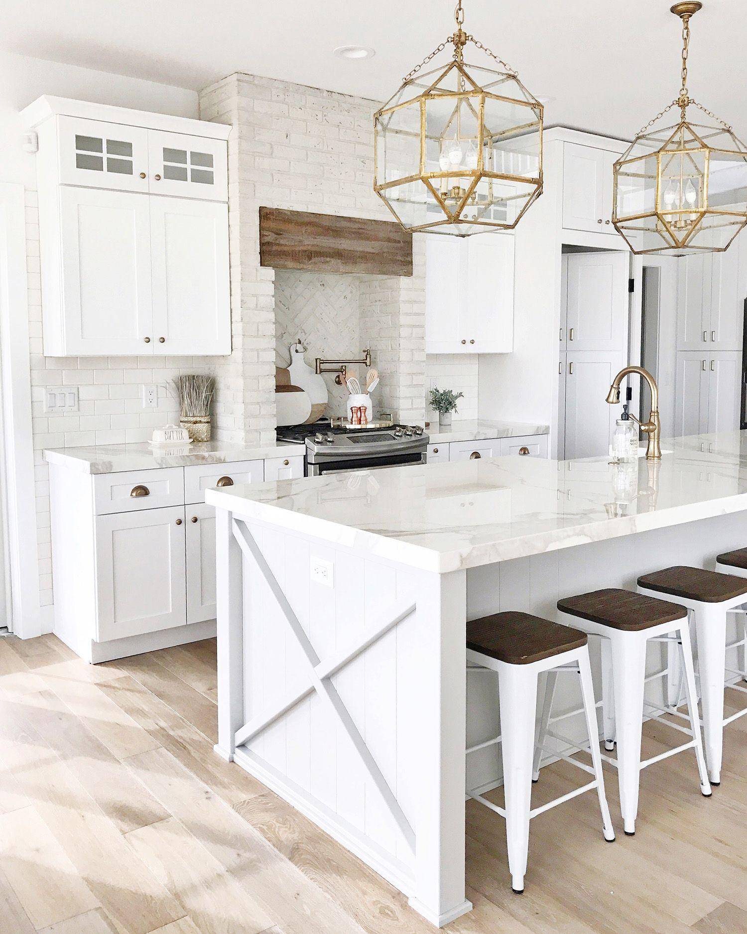 Porcelain Kitchen: The Stone Shop Kitchen White Cabinets Kitchen Island