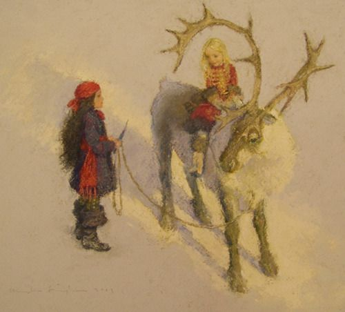 Quot The Snow Queen Take Good Care Of The Little Girl Quot By
