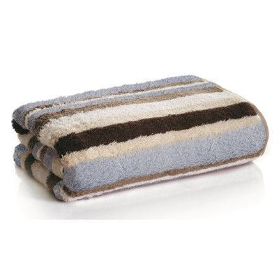 Daisy House Striped Bamboo Rayon Bath Towel Color Bath Towels