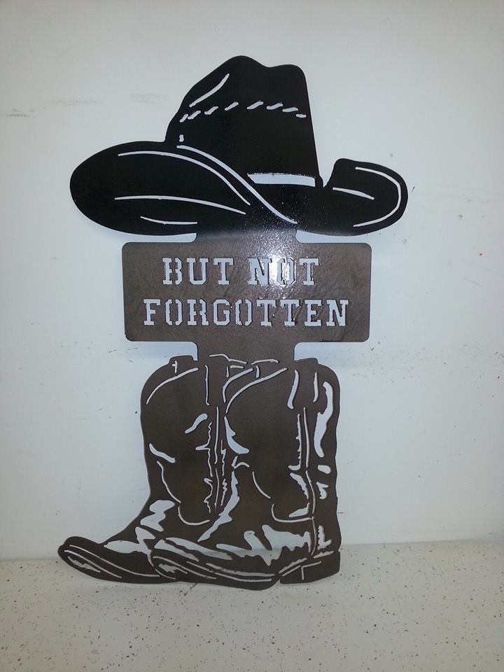 f7c896883c3 Boots with Cowboy hat