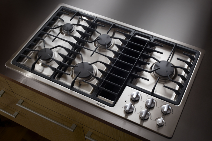 Downdraft Gas Cooktops 36 36 Gas Cooktop With Downdraft