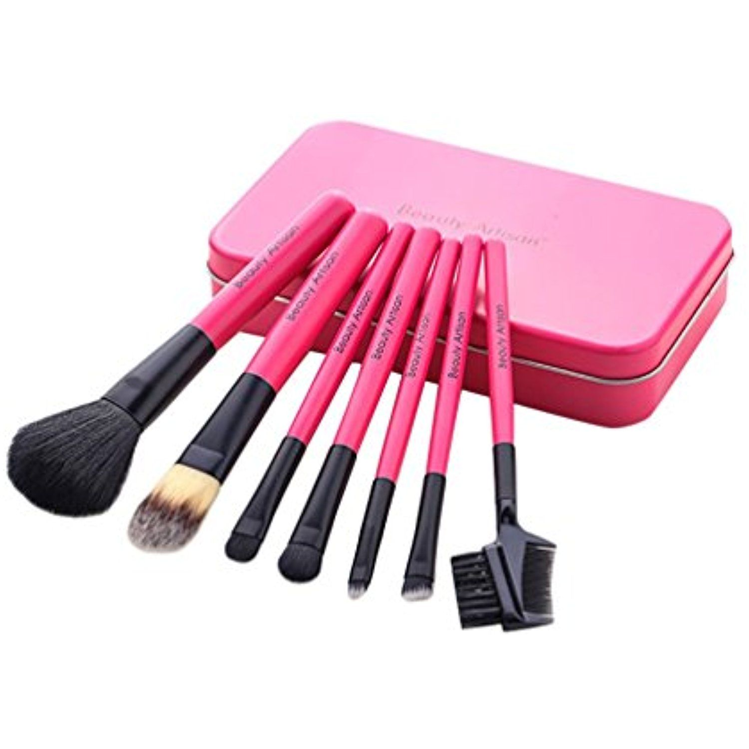 MITIAO Full Cosmetic Brushes 7 Piece Makeup Brush Sets