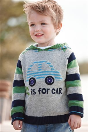 Next Piekny Sweterek Z Autem 110 3969463556 Oficjalne Archiwum Allegro Graphic Sweatshirt Sweaters Boys