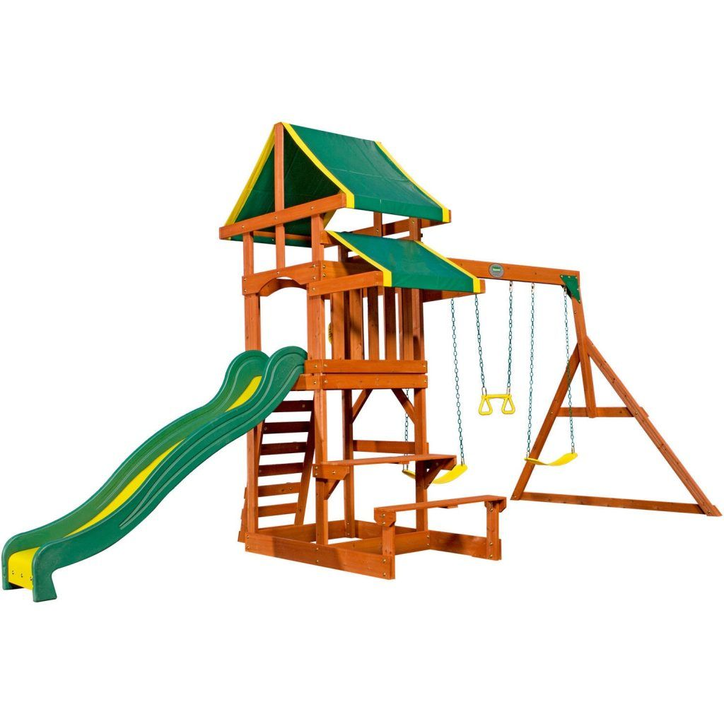 Backyard Playground Sets Backyard Discovery Tucson Cedar Wooden ...