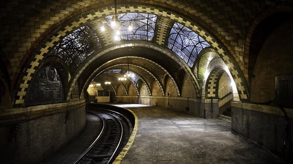 city hall ghost station