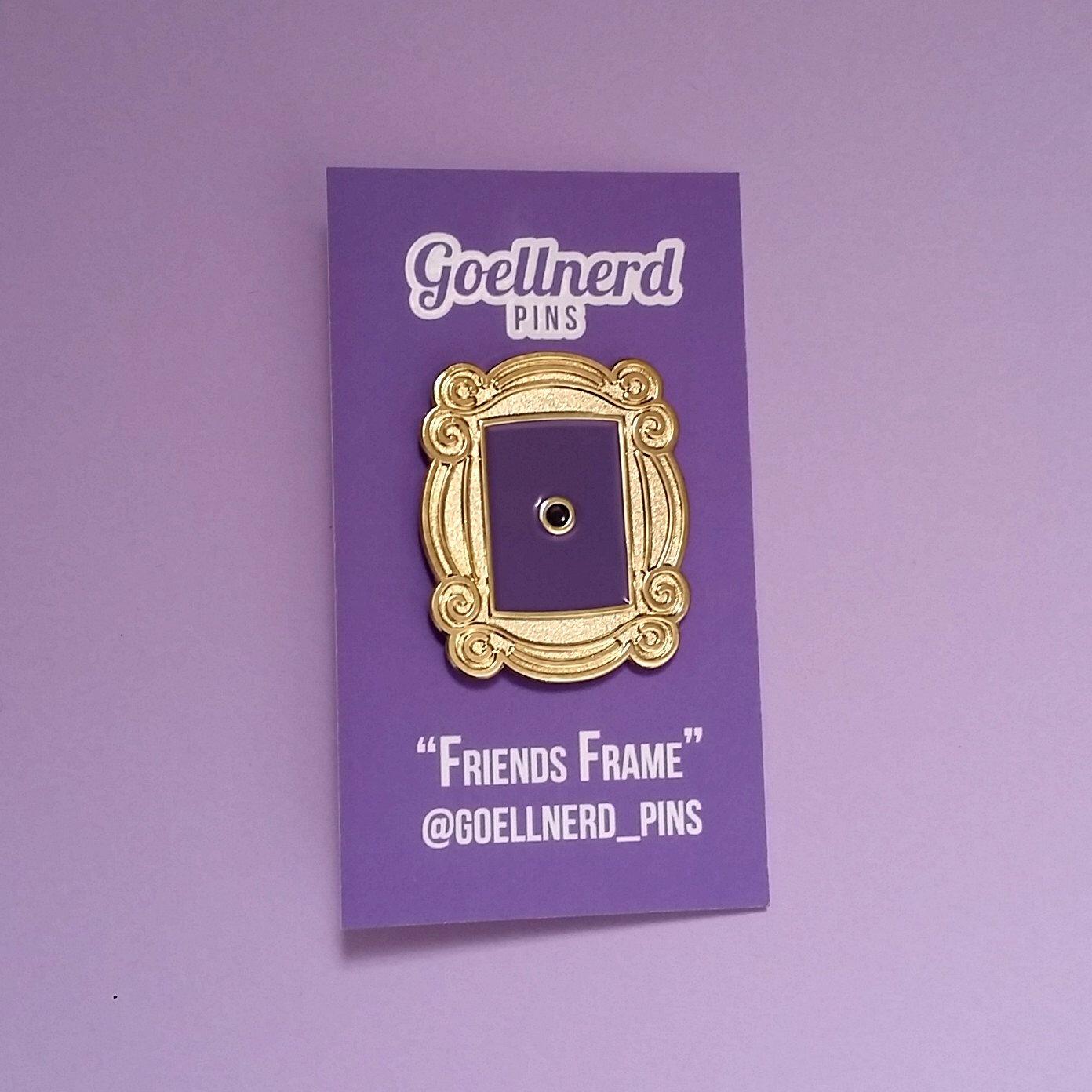 Friends Frame Pin Soft Enamel 90s TV Show Gifts Gift | Pinterest