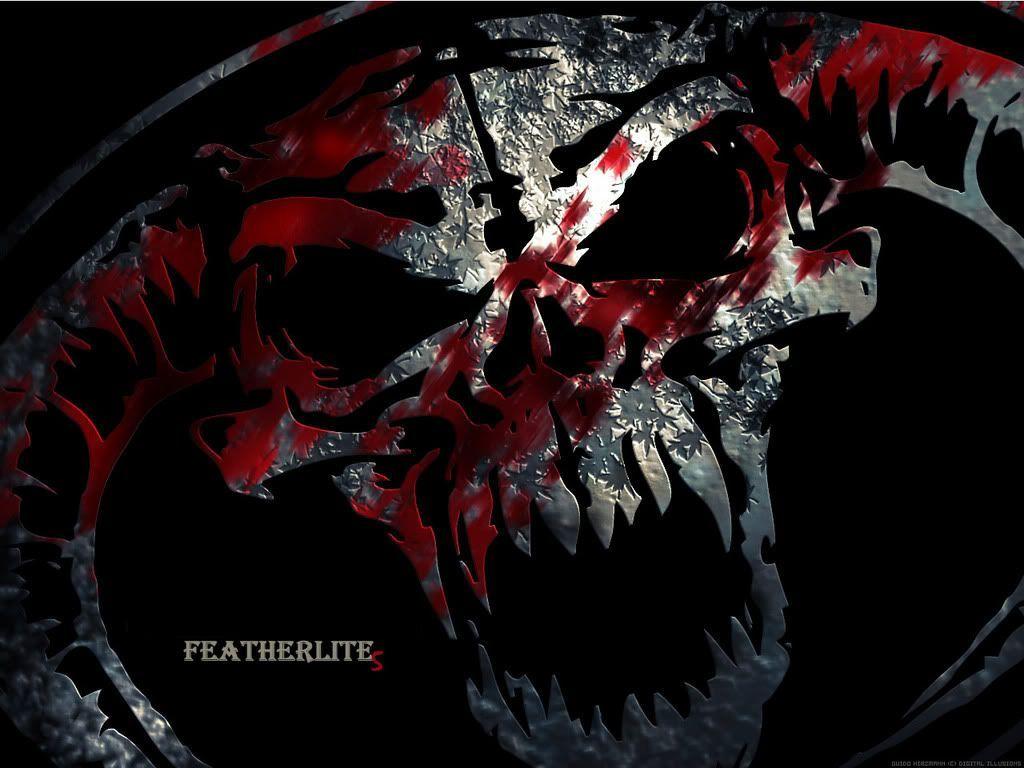 Cool Skull Wallpaper Fullscreenwallpaper 1920x1200 Red And Black Wallpapers