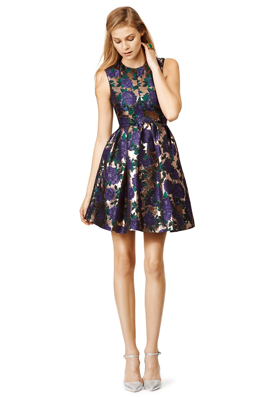 Rent Blue Blossom Dress by MSGM for 150 only at Rent the