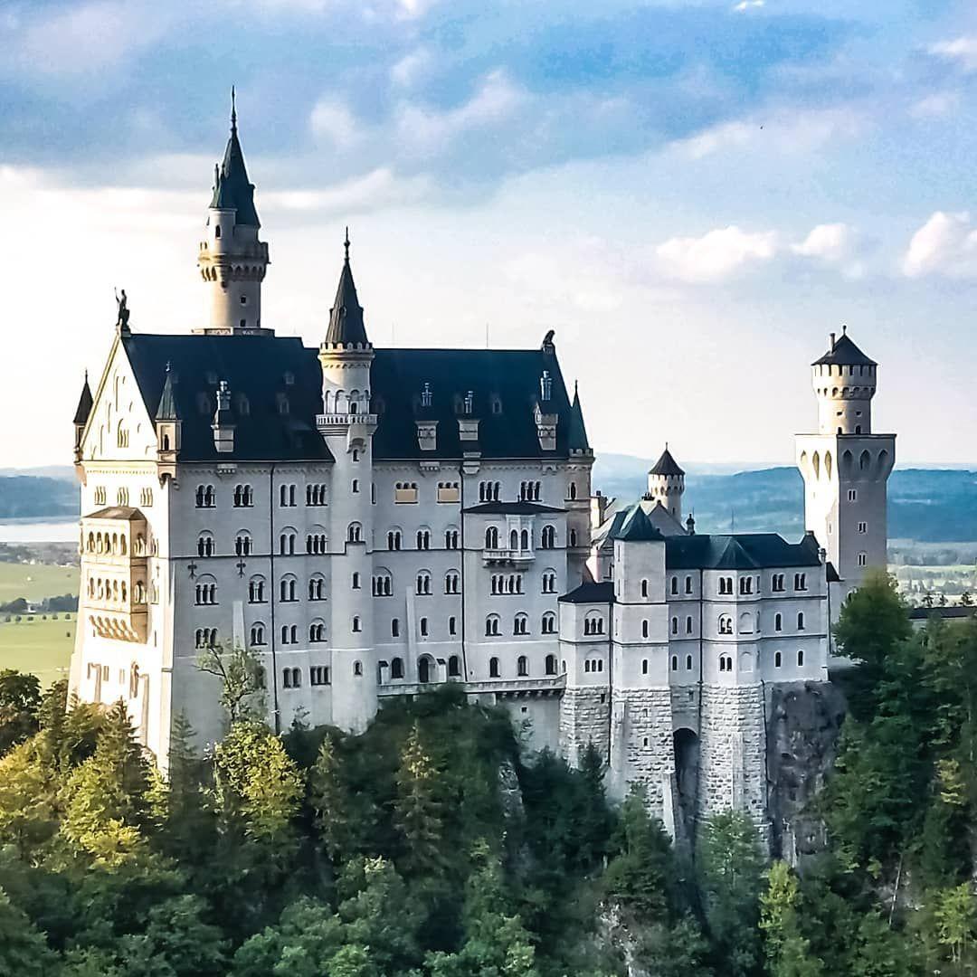 Wandering Neuschwanstein Castle Neuschwanstein Germany Disney Dinseyworld Fairytale Princess Castle Schloss House Styles New Pictures Instagram