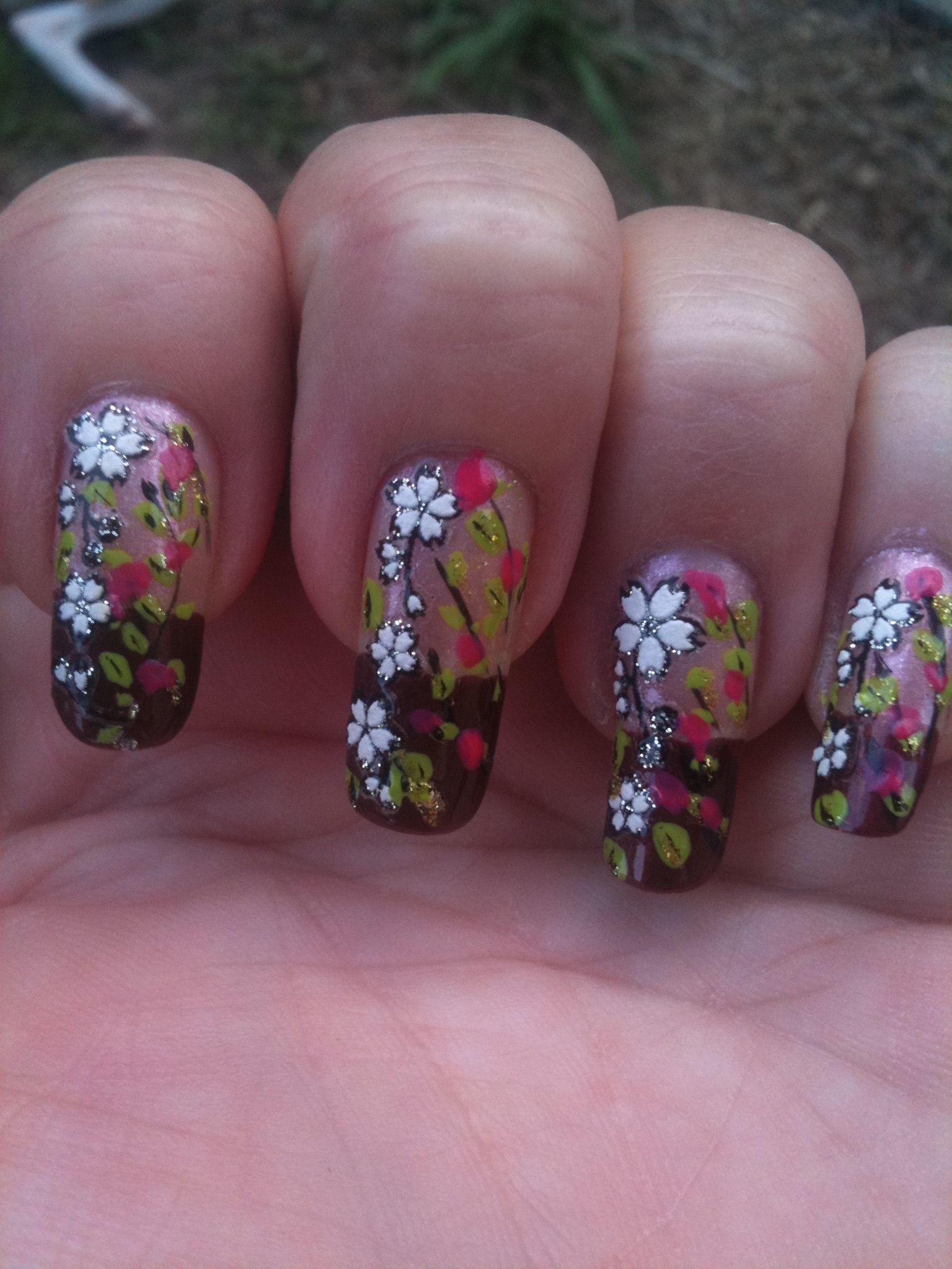 Fancy fingernail designs from home! | Fingernail designs ...