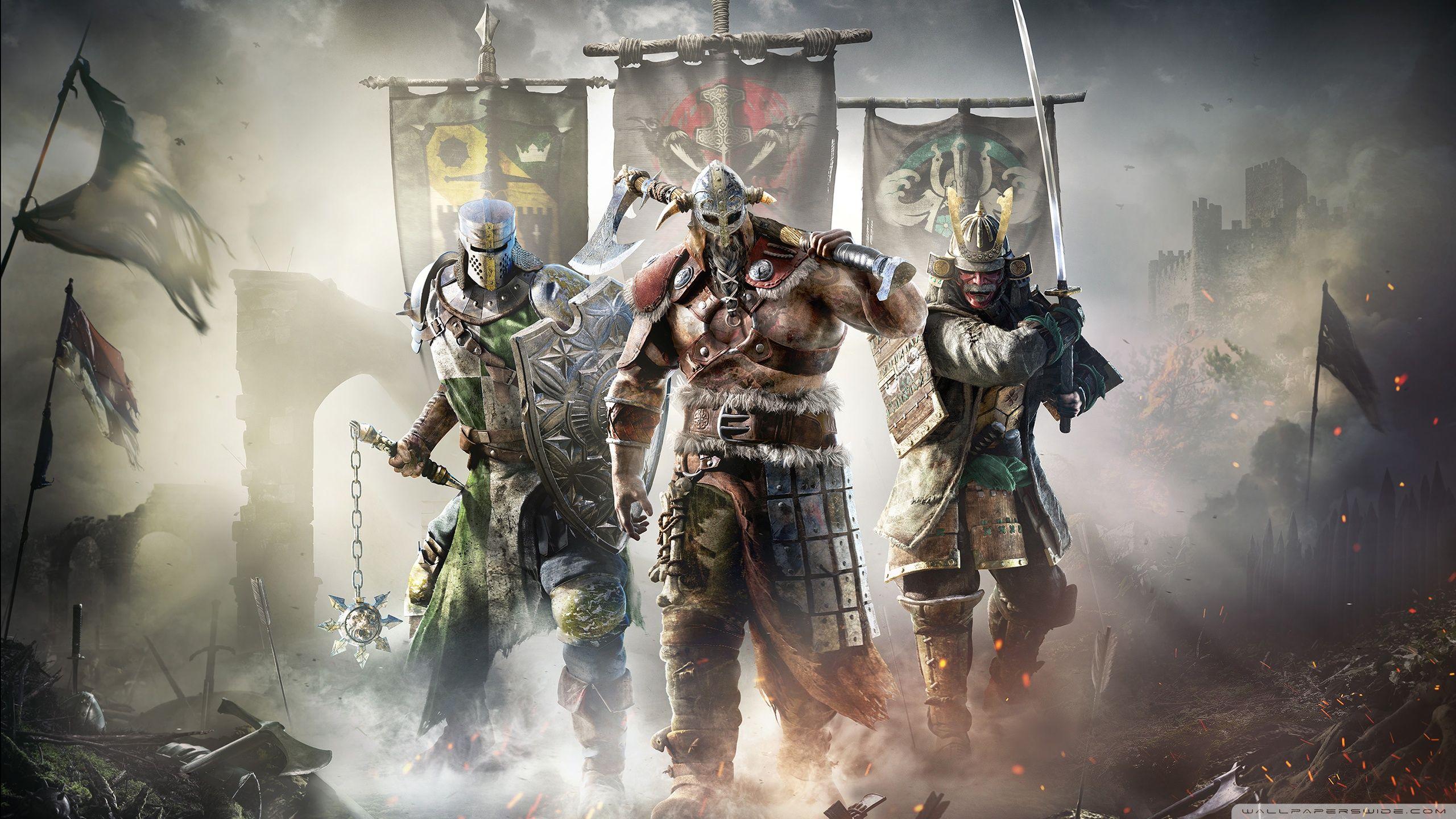 for honor warriors hd desktop wallpaper widescreen fullscreen