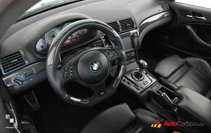Gloss Black Interior Trim Gloss Black E46 Coupe Interior Trim