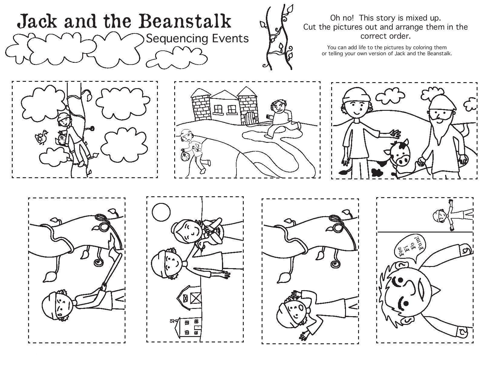Sequencing Worksheet 2nd Grade Sequencing Events