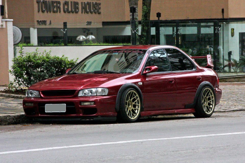 Refreshing colour combo - Subaru Impreza