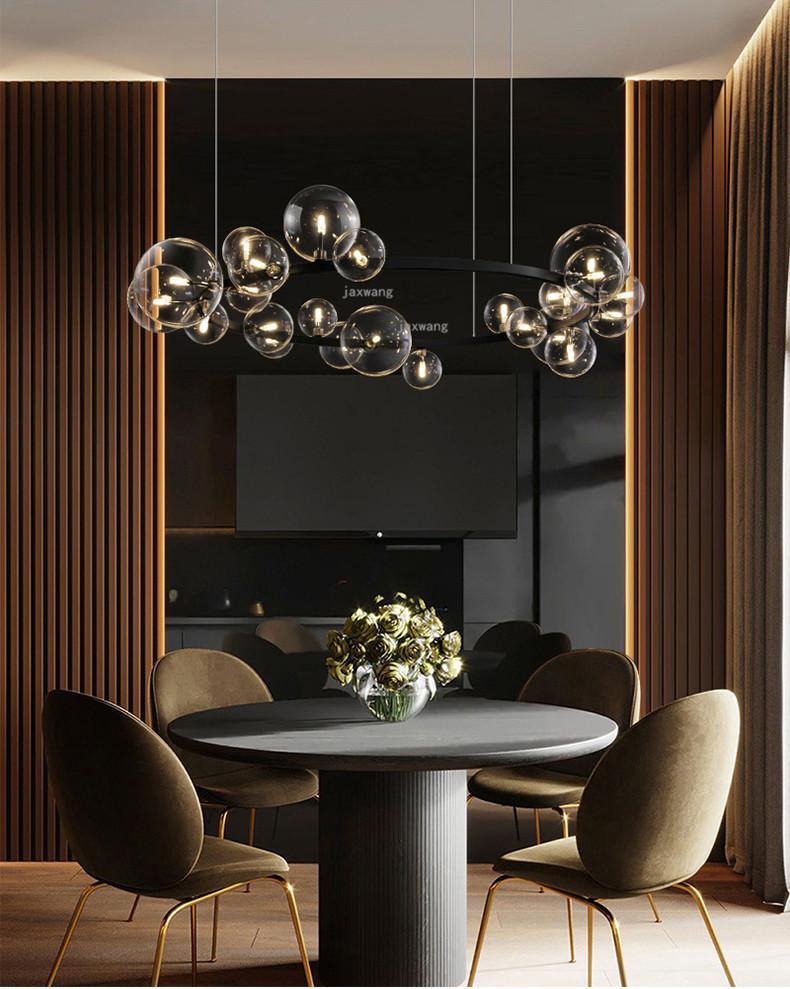 Luxury American Glass Decor LED Pendant Lights Nordic Light -Lighting Garner #ceilinglamp #pendantlamp #pendantlight #nordicinterior #interiordesign #homedecor #homeinterior #hanginglamp #livingroomdecorations #realestate #architecture