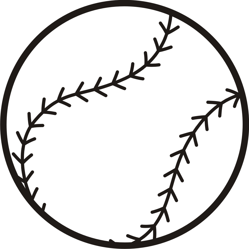 baseball clipart free baseball graphics clipart clipart image 5376 [ 1059 x 1059 Pixel ]