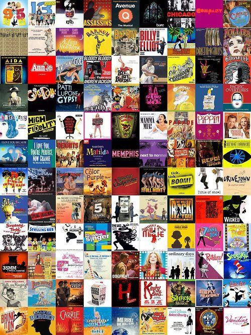 Pin by emma haley on broadway/musicals Musical theatre