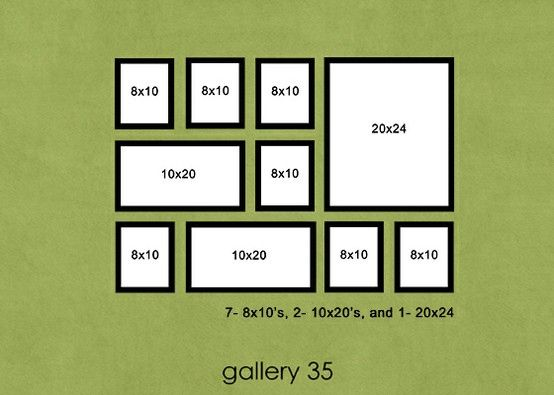 Photo Display Ideas Photo Wall Layout Frames On Wall Photo Arrangements On Wall