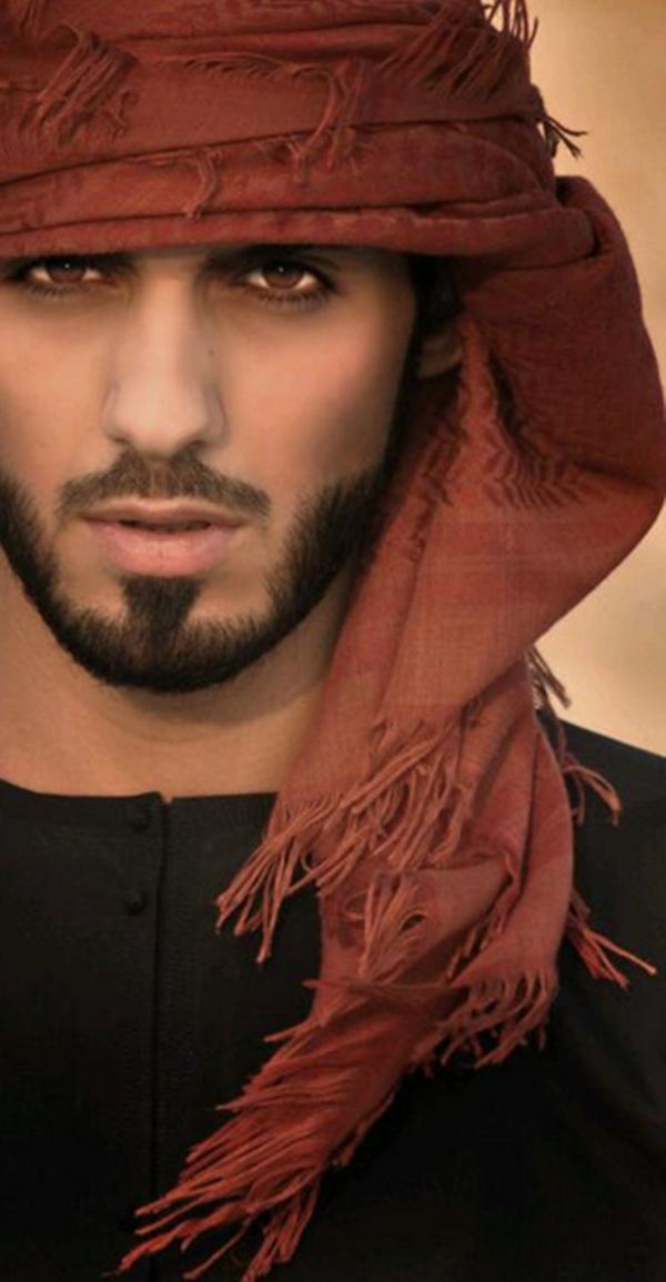 Good looking arab