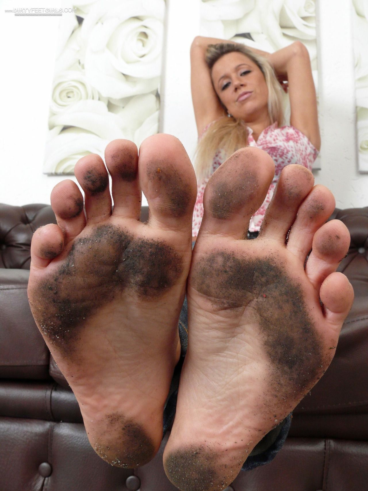 soles feet girls dirty