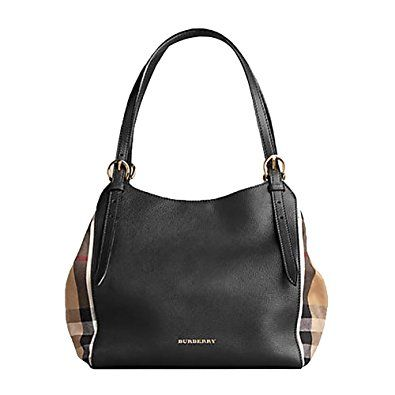 b1f64d181f05 Tote Bag Handbag Authentic Burberry Small Canter in Leather and House Black  Color Made in Italy  Affiliate