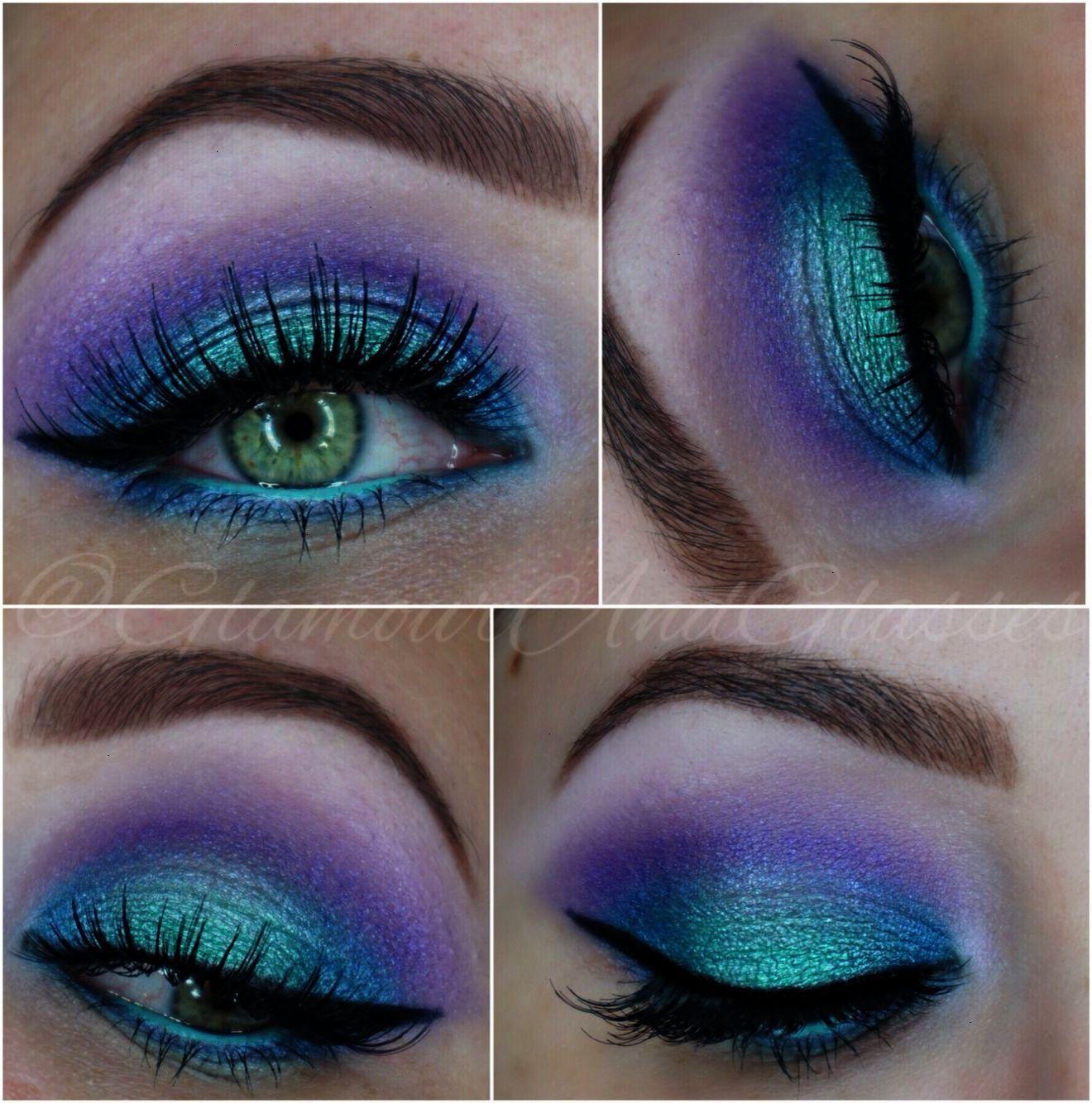Mermaid Eyes using Makeup Revolution Mermaids Forever