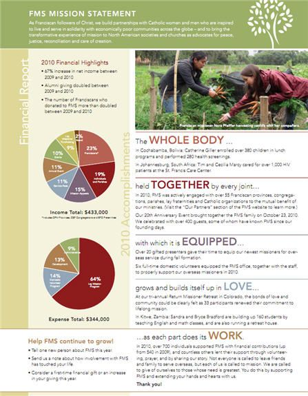 17 Best images about Nonprofit Annual Reports on Pinterest - example of a financial report