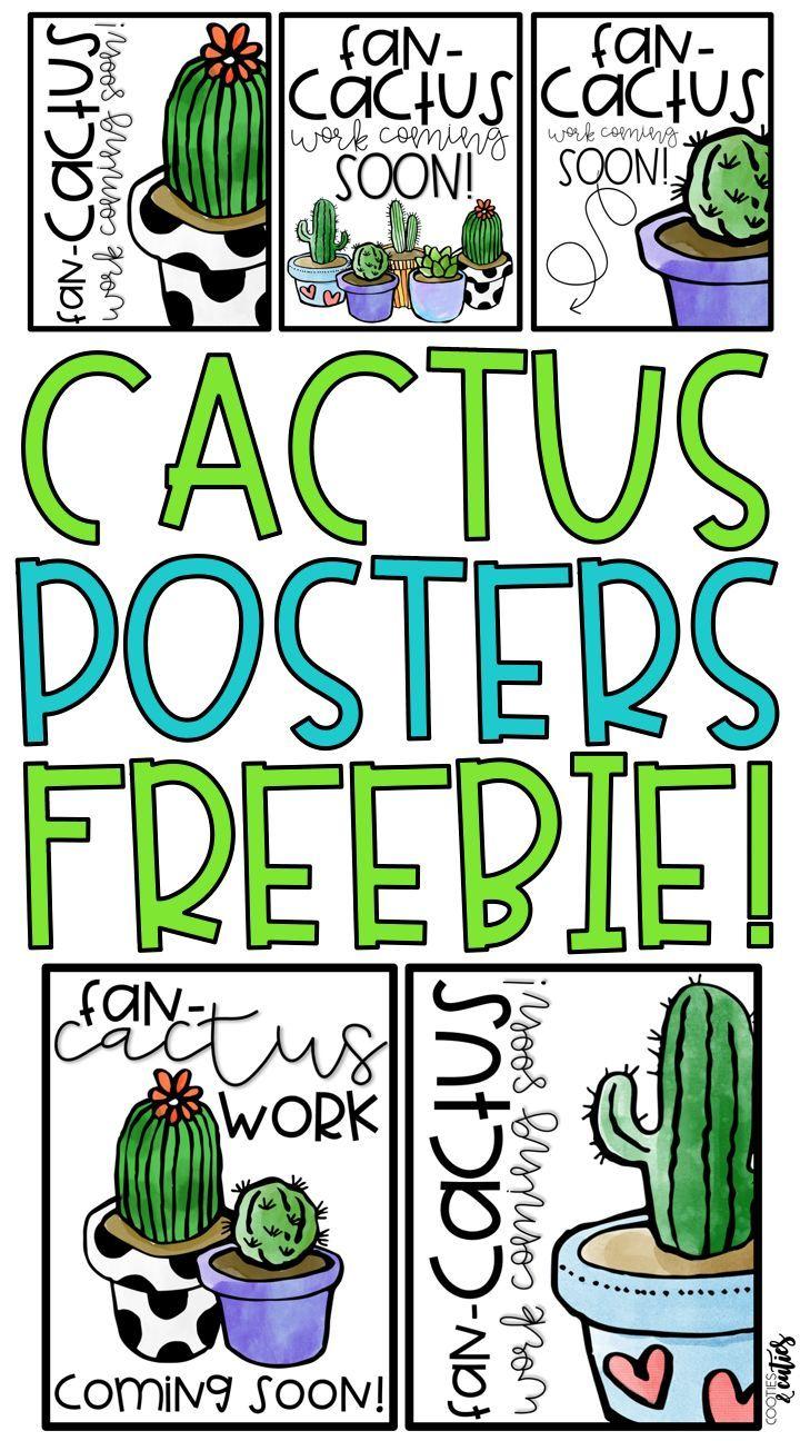 Back to School Bulletin Board - Cactus Decor | Work Coming Soon!