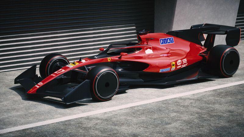 ArtStation Ferrari F1 2021 Retro, Volodymyr Borovkov em
