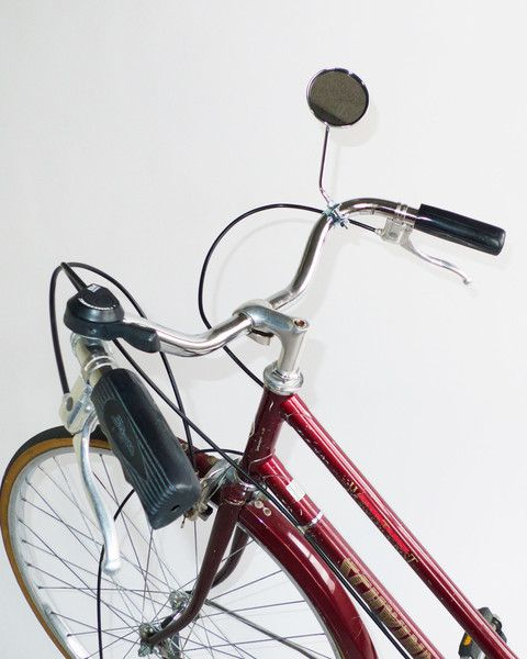 Bicycle Mirror With Reflector Saddle Up Bicycle Bike Style