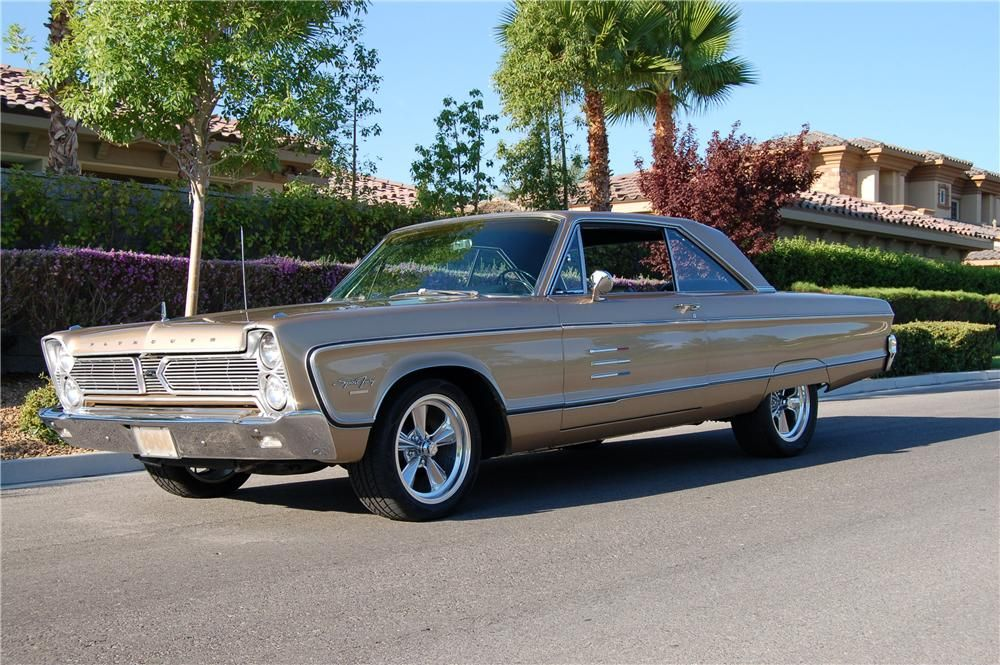 1966 PLYMOUTH SPORT FURY 2 DOOR HARDTOP Plymouth cars